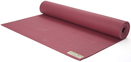 "JADE YOGA Harmony Yoga Mat - Yoga Mat Designed To Provide A Secure Grip To Help Hold Your Pose (3/16"" Thick x 24"" Wide x 68"" Long - Color: Raspberry)"