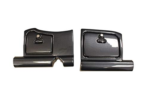 Bahama Golf Parts EZGO RXV Glove Box Doors - Carbon Fiber