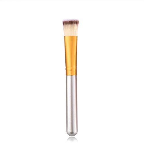 WWLZ Outils de beauté One Pieces Style Pinceau de Maquillage Poudre Blush Face Outils de beauté Flat Foundation Brush