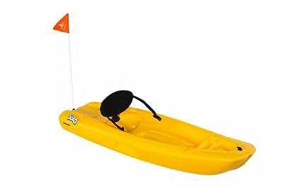 KOS06P203-00 Yellow Pelican Solo Kayak