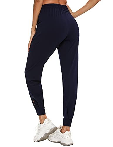 Pantalon Chandal Mujer Algodón Pantalones Deportivos para Mujer Pantalones de Pijama Largos para...