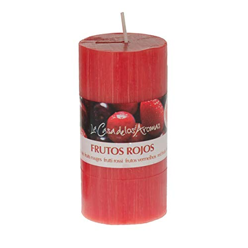 lacasadelosaromas Vela Perfumada Frutos Rojos 220g
