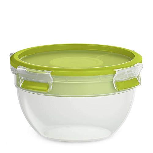 EMSA Salatbox mit Einsätzen Clip Go Salatschüssel Grün