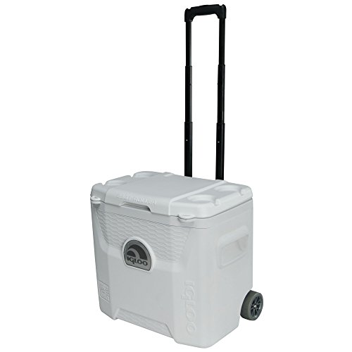 Igloo Products Corporation 00045929 Marine Ultra Quantum Roller Cooler, 28 Quart