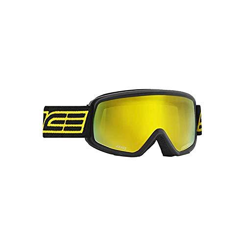 Salice 608DAF - Máscara de esquí SR, Color Negro, Doble antiniebla, Unisex, para Adulto