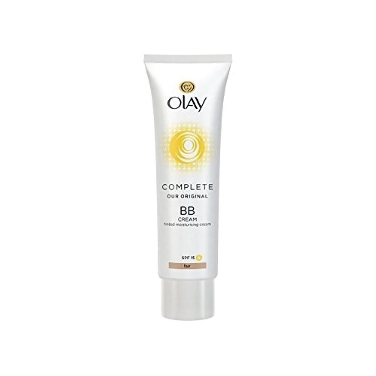 スペクトラムサポート悲しみオーレイ完全なクリーム15フェアの50ミリリットル x2 - Olay Complete BB Cream Fair SPF15 50ml (Pack of 2) [並行輸入品]