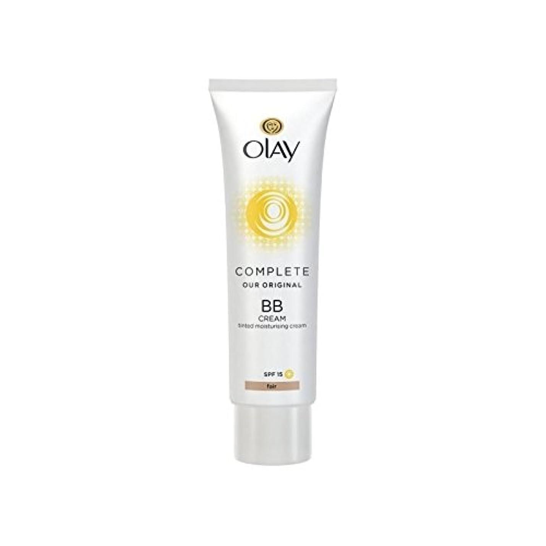 抑圧者パトロンデクリメントオーレイ完全なクリーム15フェアの50ミリリットル x4 - Olay Complete BB Cream Fair SPF15 50ml (Pack of 4) [並行輸入品]