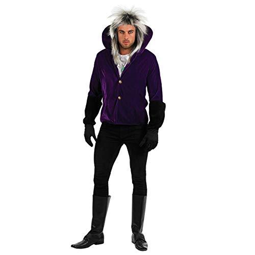 Fun Shack Disfraz de Goblin King, de Labyrinth, para Hombre. Traje del Icono del Pop de los aos 80, Talla XL