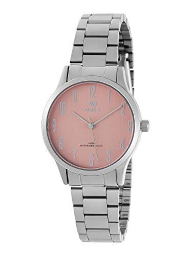 Reloj Marea Analógico Mujer B41242/6 Armis Acero y Esfera Rosa Claro