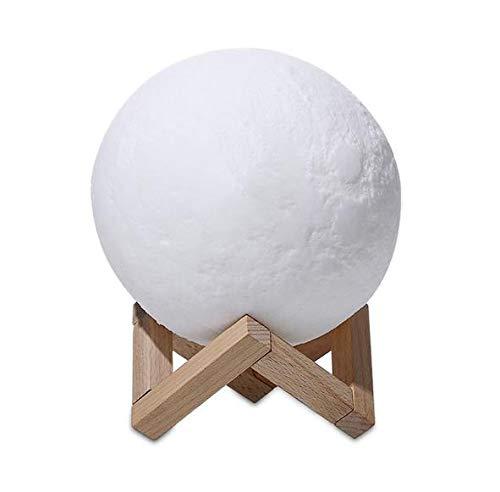 Cuadro Dirigido Lámpara De Escritorio Lámpara Natural Redondo Color Que Cambia La Bombilla Consola De Lámparas Decorativas,Blanco