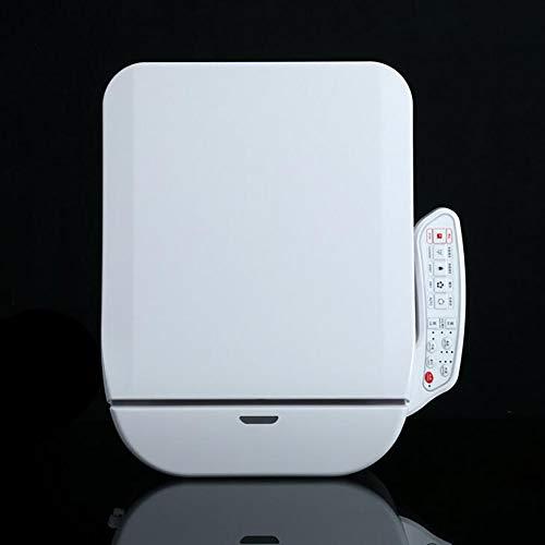 YLEI Automatisch beheizt Toilettensitz, schließender Sitzheizung, Nachtlicht, Konstante Wassertemperatur, Warmlufttrockner, Weibliche Reinigung und Hüftreinigung,Panel