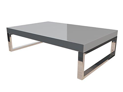 KERABAD Waschtischplatte Waschtischkonsole für Aufsatzwaschbecken und Waschschalen Holzplatte Badmöbel Tischplatte 80x45x5cm Silber Hochglanz kb-wt50120silber-12