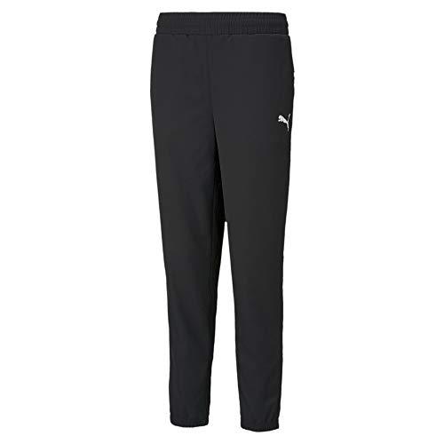 PUMA Active Woven Pants Chándal, Mujer, Black, L