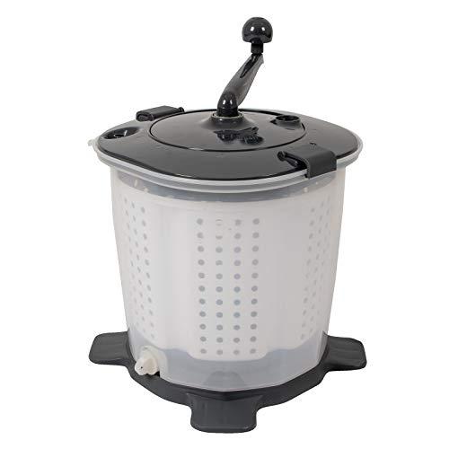 Bo-Camp Mobile Mini Camping Reise Wasch Maschine Hand Kurbel Wäsche Trockner 2kg