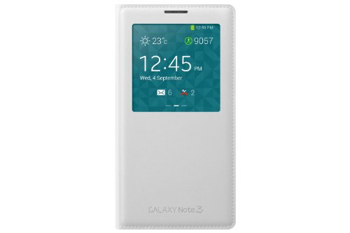 Samsung Official Original S View Cover for Galaxy Note 3 - White