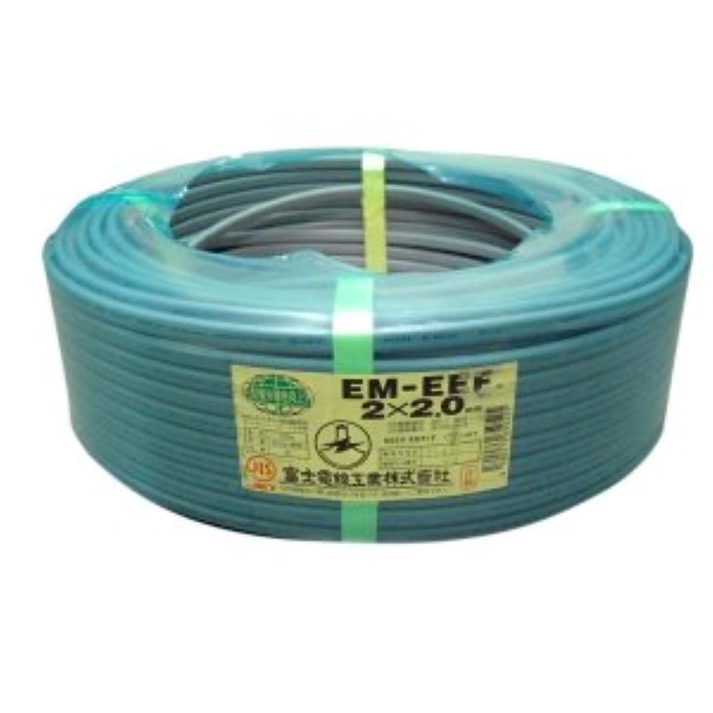 確認する座標神社切売販売 富士電線 エコ電線(配電用電線) 2.0mm×2C×1m EM-EEF2.0*2C