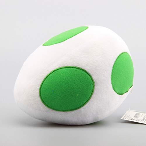 qwermz Soft Toy,cartoon Super Mario Bros Plush Toys Plush Sofa Cushion Pillows Yoshi Dragon Eggs White 8' 20 Cm Children Soft Dolls