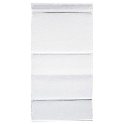 ZigZag Trading Ltd IKEA ringblomma–Raffrollo weiß