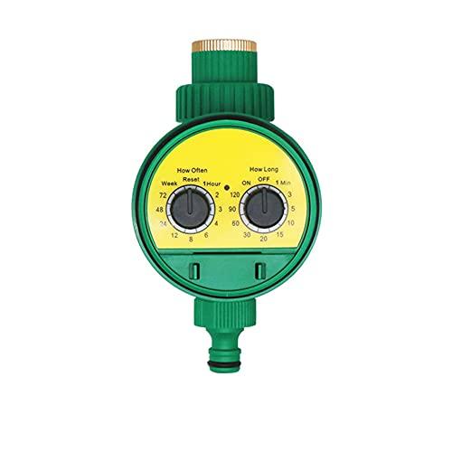 Irrigazione Timer - 1 2  e 3 4  Temporizzatore per Irrigatore Digitale LCD Timer Irrigazione modalità Programmabile Filetto Timer Automatico per Giardino Annaffiatura con Coperchio Impermeabile - 002