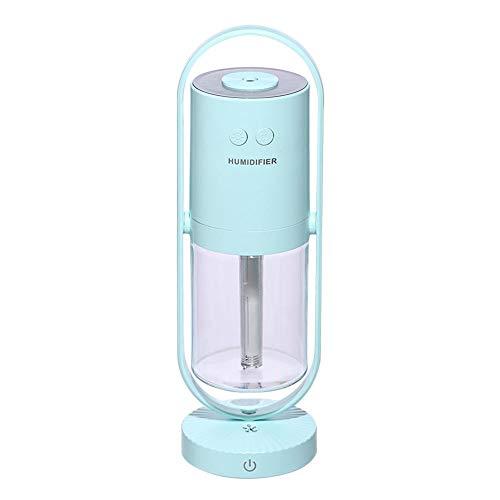 Innersetting 200ml Humidificador LED Ultrasonic Mist Maker 360 Angle Aroma Diffuser (Rosa)