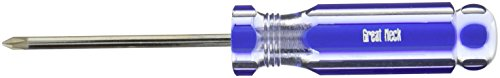 GreatNeck A33PC Phillips Screwdriver, 1 x 3 Inch