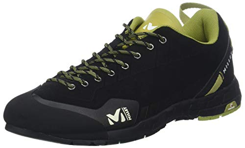 Millet AMURI Leather, Zapatos de Escalada Hombre, Negro (Black-Negro 0247), 39 1/3 EU