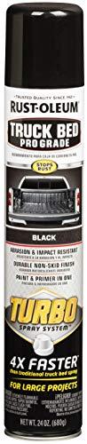 Rust-Oleum 340455 Truck Bed Coating, 24 oz, Black