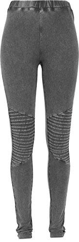 Urban Classics Damen Ladies Denim Jersey Leggings, Darkgrey, M