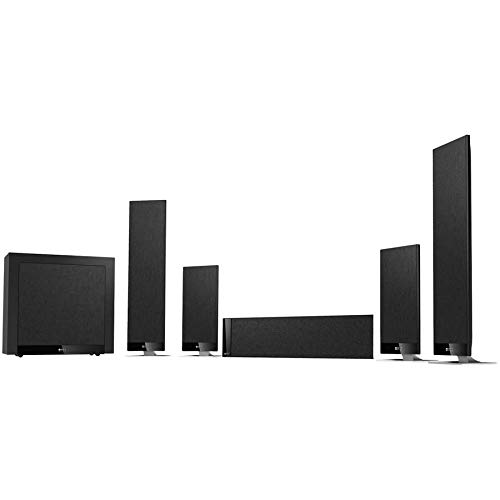 T205 Black Sistema Home Theater 5.1