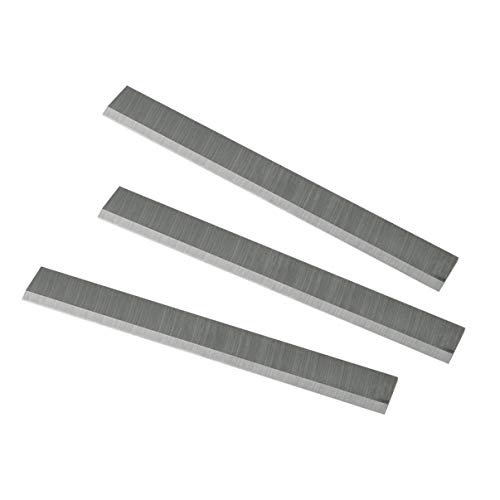 POWERTEC 148030 6-Inch HSS Jointer Knives for Delta 37-190 37-195, Set of 3