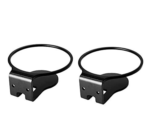 2er Pack Wandhalterung Kompatibel mit Apple Homepod Mini, robuster Metallhalterung für die Wandhalterung Klares Kabelmanagement, um ordentlich zu bleiben (schwarz,2PCS)