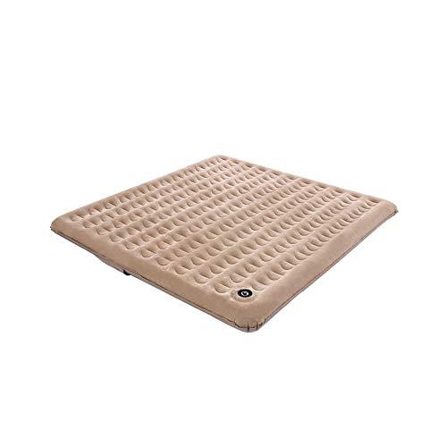 JJZD Pv CFlocking de Tela colchón Inflable Elevación Espesa la Cama de Aire del hogar portátil de Doble Cama Individual Habitación Vapor Cama Fuerte Capacidad de Carga
