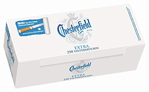 1000 Chesterfield Blue Extra® Filterhülsen