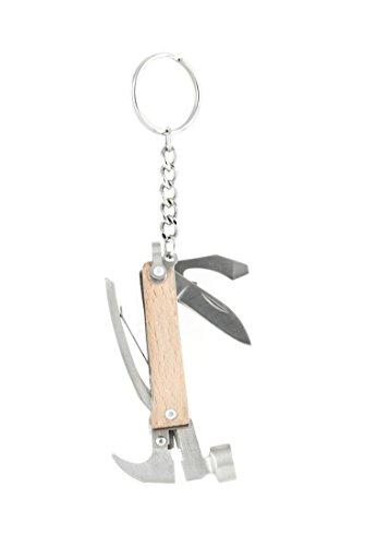 "Kikkerland Mini""martillo de la herramienta"" de madera, KR13-W"