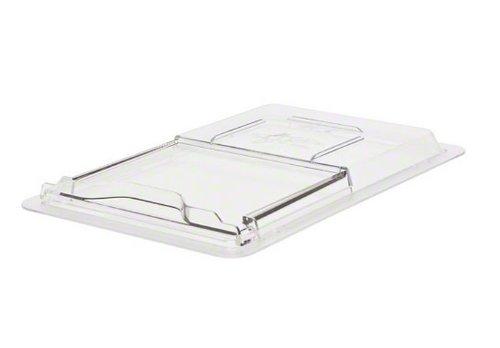 "Cambro (1218SCCW135) 12"" x 18"" Lid for Half-Size Food Box - Camwear SlidingLids"