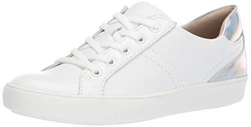 Naturalizer Women's Morrison Sneaker, White Leather, 9.5 Wide