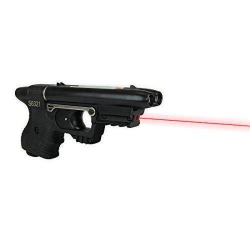 JPX Pfefferspraypistole mit Laserzieleinheit, Piexon