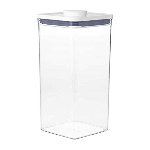OXO Good Grips POP Container  Airtight Food Storage  60 Qt for Bulk Food and MoreTransparent60 Qt  Square  Bulk Food