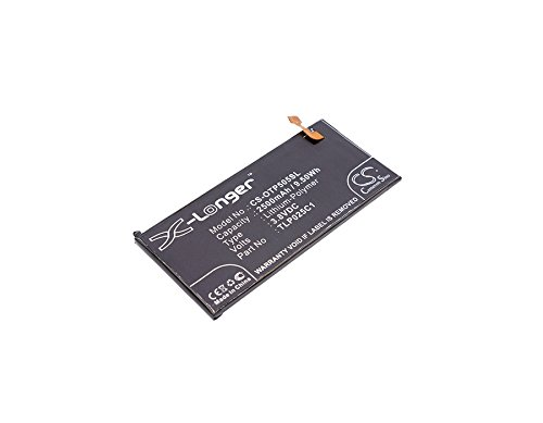 TECHTEK batería sustituye TLP025C1, para TLP025C2 Compatible con [ALCATEL] One Touch Allure, One Touch Fierce 4, One Touch Idol 3 5.5, One Touch Pop 4 Plus, One Touch Pop 4+, OT-50560, OT-5056D, OT-5