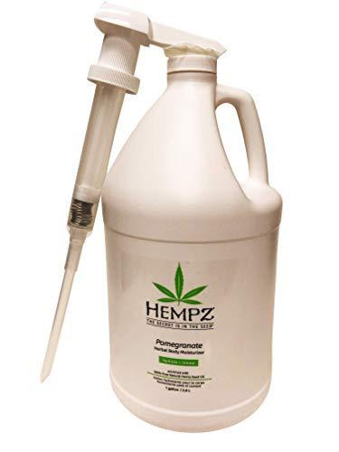 Hempz Pomegranate Herbal Body Moisturizer Lotion, 1 Gallon