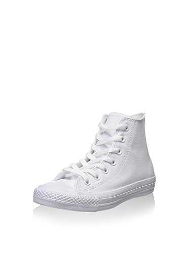 Converse Chuck Taylor All Star Hi, Zapatillas Unisex, Blanco (White), 37 EU