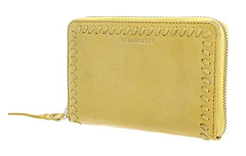 FREDsBRUDER Damen Portemonnaie Loop gelb One Size (XS-XL)