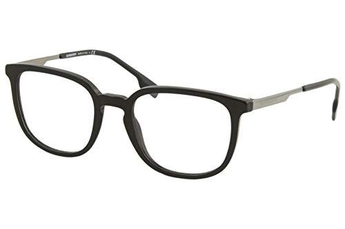 Burberry Herren Brille BE2307 BE/2307 3001, Vollrand, optischer Rahmen, 52 mm, Schwarz