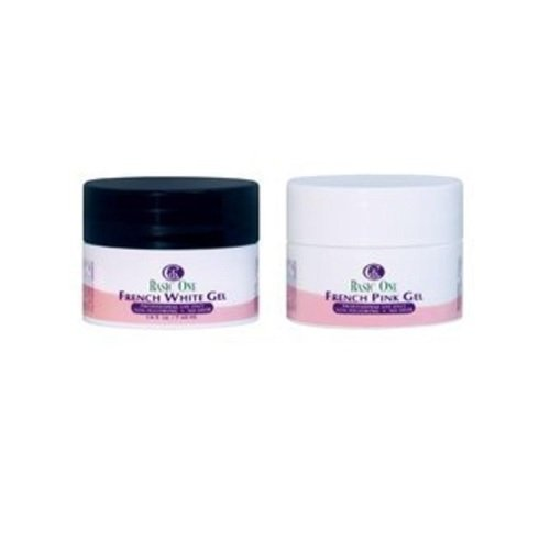 Christrio BASIC ONE French White and Pink Gel Pack - 0.25oz / 7g Each by Christrio