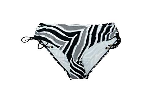 Triumph Bikini (Mutanda/Slip) Palm Elegance Midi Zwart Wit Grijs (Black/White/Grey)