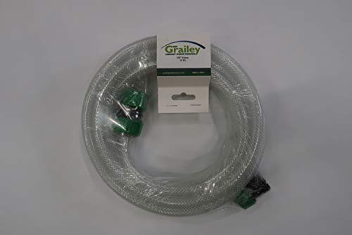 "15ft, PVC 3/8"" Heavy Duty Clear Hose, Leak Diverter Hose, Leak Diverter, Garden Hose, Dehumidifier Hose, Dehumidifier Drain Hose, Simple to use, Durable, Perfect for any application"