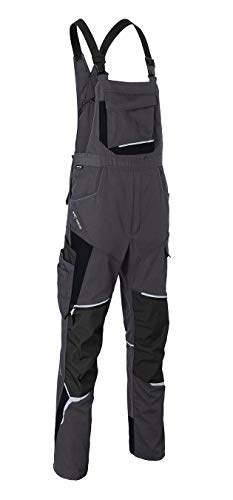 KÜBLER Bdyforce - Peto de trabajo versátil, con tejido Cordura resistente y muchos bolsillos antracita / negro 3 mes