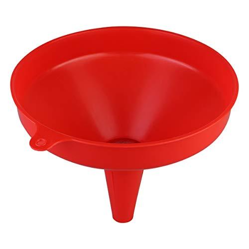 Wakauto Embudo de Cocción Embudo de Plástico Líquido Colador de Embudo para Ingredientes Líquidos Colador de Cocina Embudo Gadget Multiusos (Color Aleatorio)