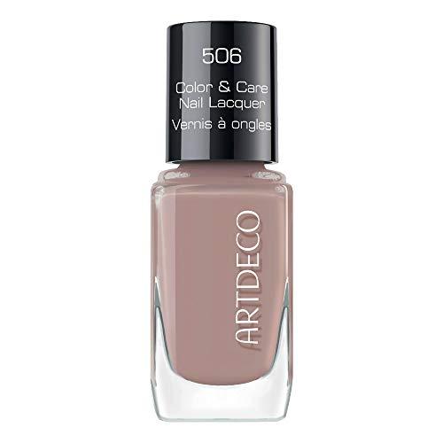 ARTDECO Color & Care Nail Lacquer, Pflegender Nagellack, Nr. 506, creamy cashmere