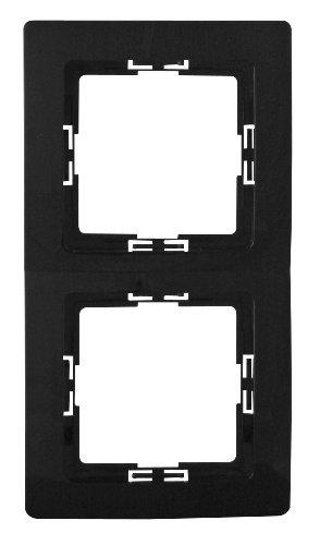Kopp 2-fach Rahmen Paris, schwarz
